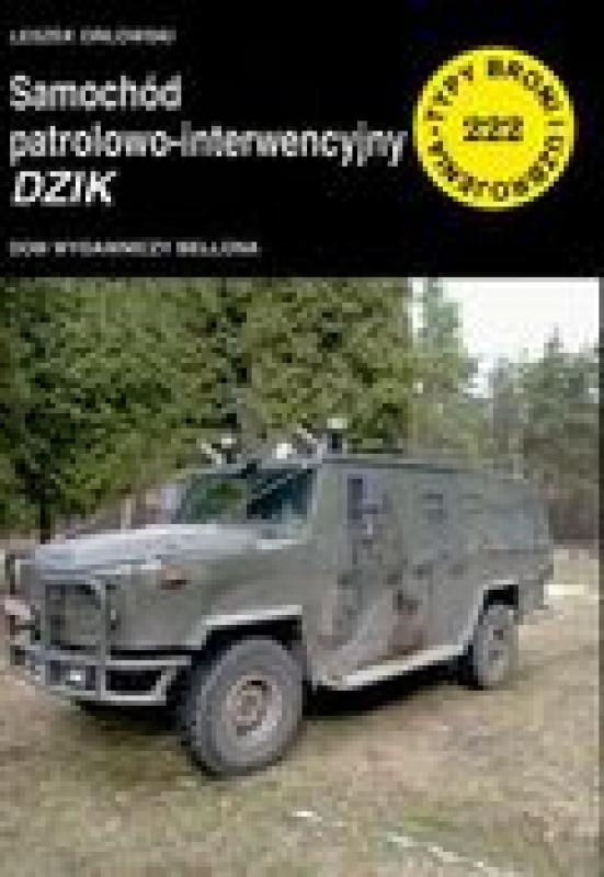 Okładka książki - Samochód patrolowo-interwencyjny Dzik