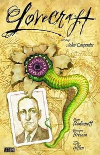 Okładka książki - Obrazy grozy. Lovecraft