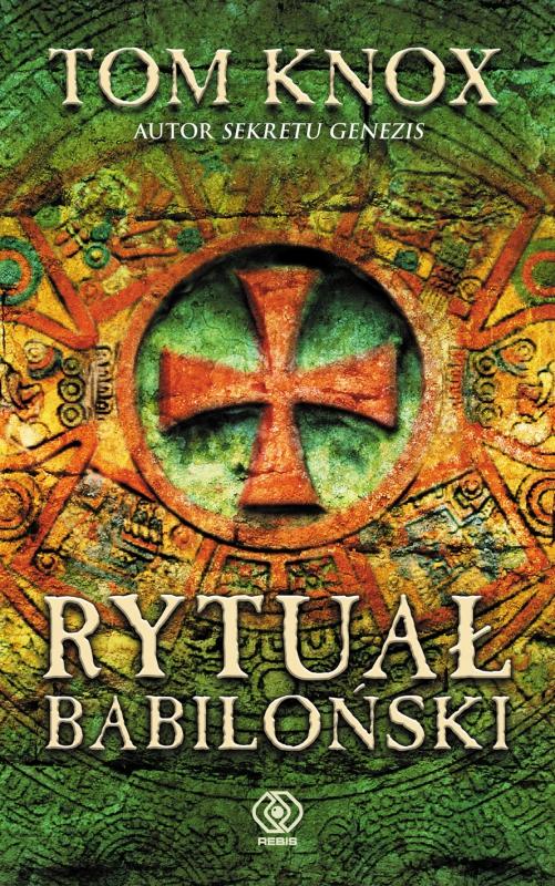 Okładka książki - Rytuał babiloński