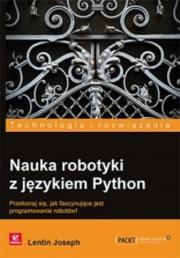 Okładka - Nauka robotyki z językiem Python