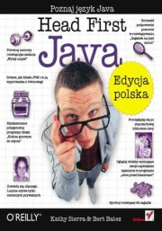 Ok�adka - Head First Java. Edycja polska (Rusz g�ow�!)
