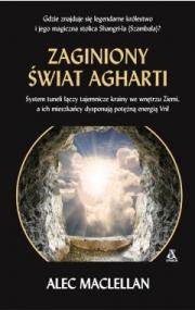 Okładka - Zaginiony świat Agharti