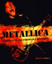 Ok�adka - Metallica. Kompletna ilustrowana historia