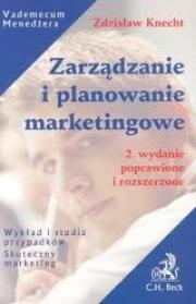 Okładka - Zarządzanie i planowanie marketingowe