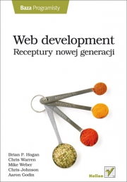 Ok�adka - Web development. Receptury nowej generacji