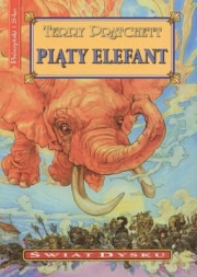Ok�adka - Pi�ty elefant
