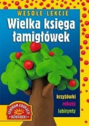Ok�adka - Weso�e lekcje Wielka ksi�ga �amig��wek