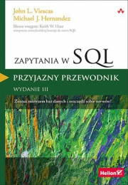 Ok�adka - Zapytania w SQL. Przyjazny przewodnik