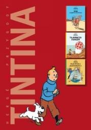 Ok�adka - Przygody Tintina. Krab o z�otych szczypcach / Tajemnicza gwiazda / Tajemnica