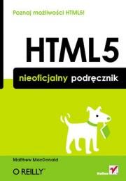 Ok�adka - HTML5. Nieoficjalny podr�cznik. Wydanie II