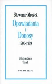 Ok�adka - Opowiadania i Donosy: 1980-1989
