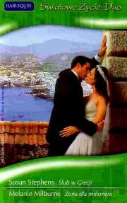 Okładka - Ślub w Grecji. Żona dla milionera
