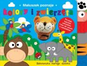 Ok�adka - Maluszek poznaje kolory i zwierz�ta