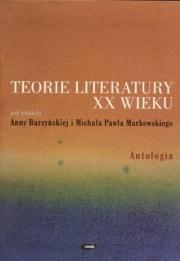 Ok�adka - Teorie literatury XX wieku. Antologia