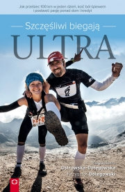 Ok�adka - Szcz�liwi biegaj� ultra