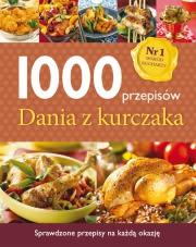 Ok�adka - 1000 przepis�w. Dania z kurczaka