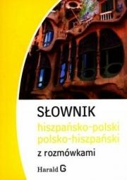 Ok�adka - S�ownik hiszpa�sko-polski, polsko-hiszpa�ski z rozm�wkami