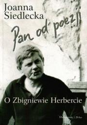 Ok�adka - Pan od poezji. O Zbigniewie Herbercie