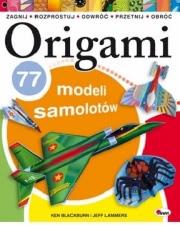 Okładka - Origami. 77 modeli samolotów