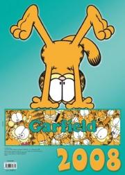 Ok�adka - Kalendarz �cienny 2008. Garfield