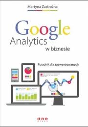 Ok�adka - Google Analytics w biznesie. Poradnik dla zaawansowanych