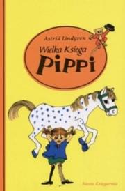 Ok�adka - Wielka Ksi�ga Pippi