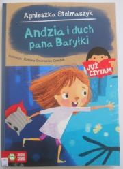 Ok�adka - Andzia i duch pana Bary�ki