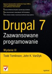 Ok�adka - Drupal 7. Zaawansowane programowanie