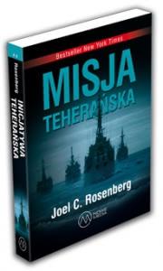 Okładka - Misja teherańska