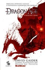 Ok�adka - Dragon Age. Utracony tron