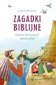 Ok�adka - Zagadki biblijne. Historie dla bystrych detektyw�w