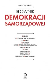 Okładka - Słownik demokracji samorządowej