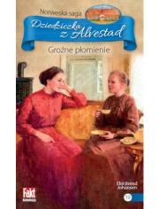Ok�adka - Dziedziczka z Alvestad tom.19. Gro�ne p�omienie
