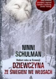 Okładka - Dziewczyna ze śniegiem we włosach