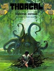 Ok�adka - Thorgal t. 25. B��kitna Zaraza