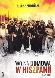 Okładka - Wojna domowa w Hiszpanii 1936-1939