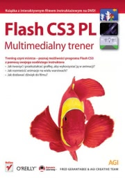 Ok�adka - Flash CS3 PL. Multimedialny trener