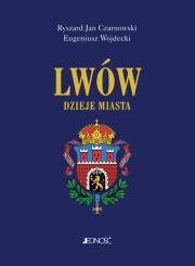Okładka - Lwów. Dzieje miasta