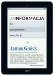 Ok�adka - Informacja. Bit, wszech�wiat, rewolucja