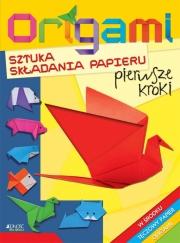 Ok�adka - Origami sztuka sk�adania papieru – pierwsze kroki