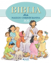 Ok�adka - Biblia dla ma�ego chrze�cijanina