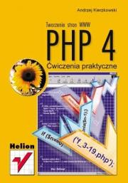 Ok�adka - PHP 4. Tworzenie stron WWW. �wiczenia praktyczne