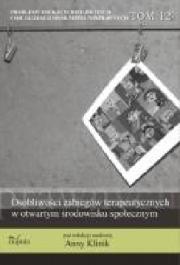 Ok�adka - Problemy edukacji, rehabilitacji i socjalizacji os�b niepe�nosprawnych. TOM 12