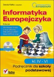 Ok�adka - Informatyka Europejczyka. Podr�cznik dla szko�y podstawowej, kl. IV - VI. Edycja: Windows Vista, Linux Ubuntu, MS Office 2007, OpenOffice.org