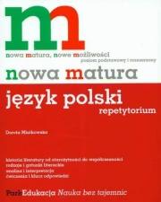 Ok�adka - Nowa matura. J�zyk polski. Repetytorium