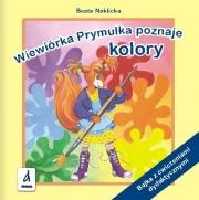 Ok�adka - Wiewi�rka Prymulka poznaje kolory