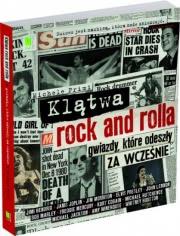 Ok�adka - Kl�twa rock and rolla. Gwiazdy, kt�re odesz�y za wcze�nie