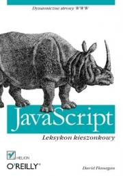 Ok�adka - JavaScript. Leksykon kieszonkowy