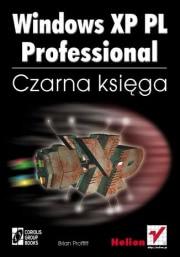 Ok�adka - Windows XP PL Professional. Czarna ksi�ga