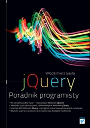 Ok�adka - jQuery. Poradnik programisty